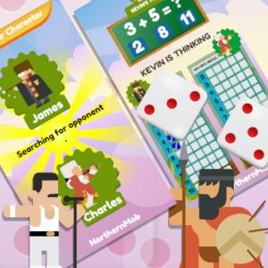 Math And Dice Kids Educational