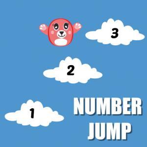 Number Jump Kids Educational Game