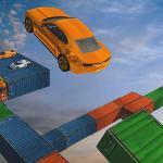 Impossible Track Car Stunt